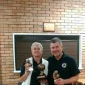 Debbie & Ray Staniford win Coastal Pairs Competition