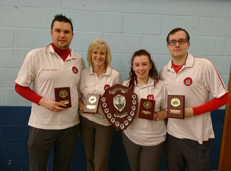 mixed fours winners